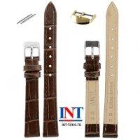Ремешок для часов 12 мм L коричневый KMV