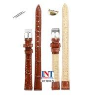 Ремешок для часов 10 мм L коричневый KMV